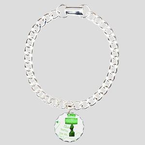 she_turns_4 Charm Bracelet, One Charm