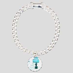 she_turns_5 Charm Bracelet, One Charm