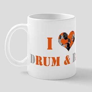 I Love dRum & bAss Mug