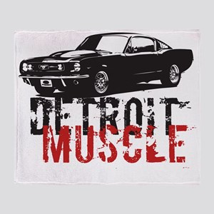 detroitmuscle Throw Blanket