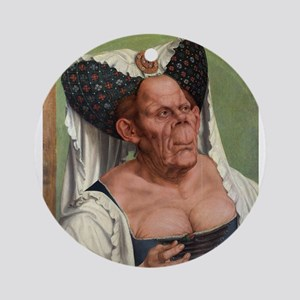 The Ugly Duchess - Quinten Massys - c 1520 Round O