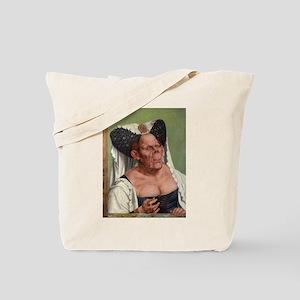 The Ugly Duchess - Quinten Massys - c 1520 Tote Ba