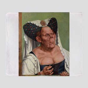 The Ugly Duchess - Quinten Massys - c 1520 Throw B