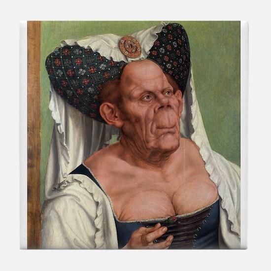 The Ugly Duchess - Quinten Massys - c 1520 Tile Co
