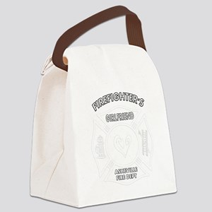 asheville ff girlfr... Canvas Lunch Bag
