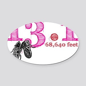 13.1p Oval Car Magnet