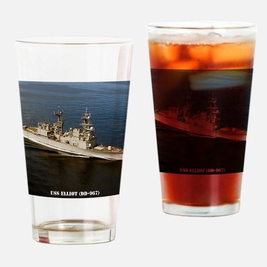 elliot calendar Drinking Glass