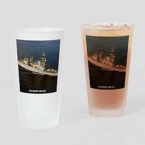 elliot framed panel print Drinking Glass