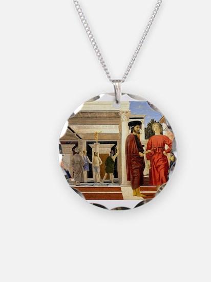 The Flaggelation - Piero della Francesca Necklace