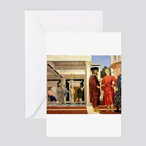 The Flaggelation - Piero della Francesca Greeting
