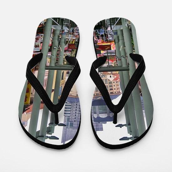 Chinatown Station - Singapore Flip Flops