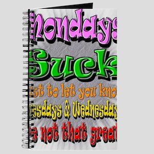 Monday Sucks a Journal