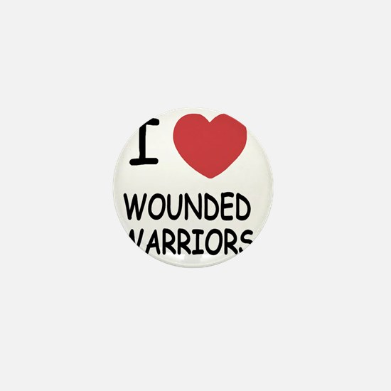 WOUNDED_WARRIORS Mini Button