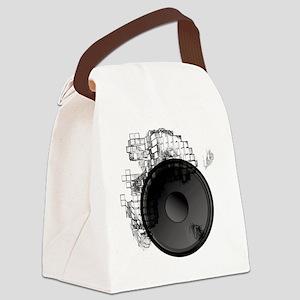 Blast It Dark Canvas Lunch Bag