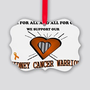 kidney cancer general  Picture Ornament