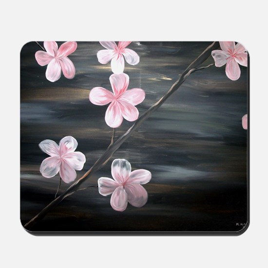 cherry blossom print Mousepad