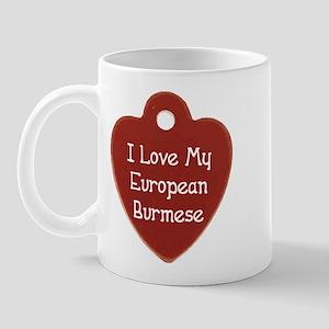 Love Burmese Mug