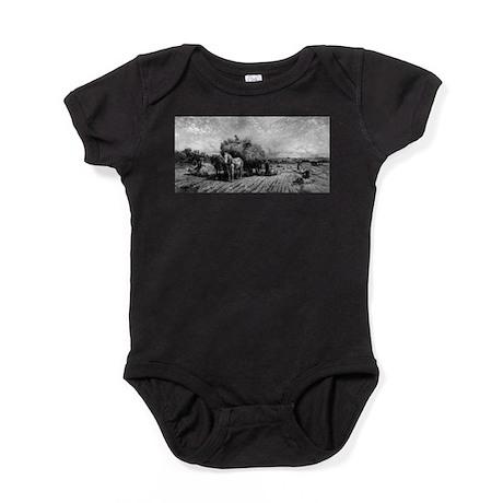 The Harvest Home - Peter Moran - 1888 Baby Bodysui