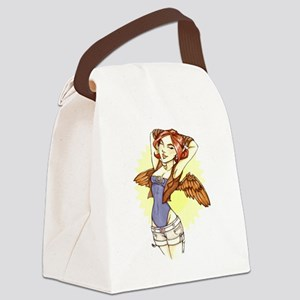 Sky Angel Canvas Lunch Bag