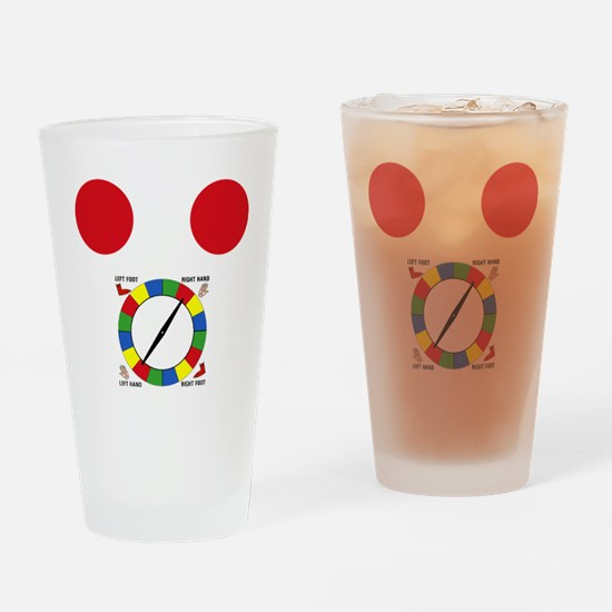 twister1 Drinking Glass