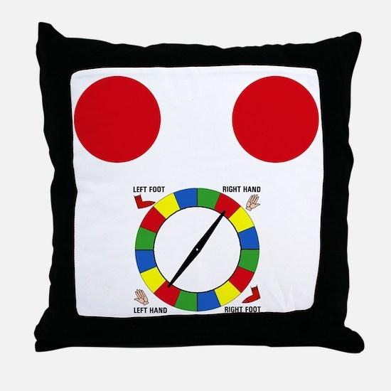 twister1 Throw Pillow