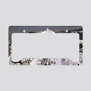 Mountain top Suprise. License Plate Holder