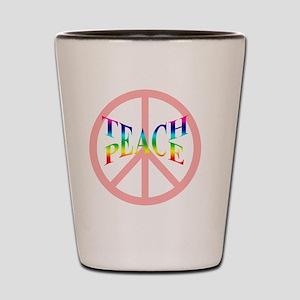 teachpeacemousepad Shot Glass