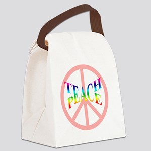 teachpeacemousepad Canvas Lunch Bag