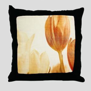 tulip ipad_case Throw Pillow