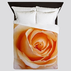 AFP 21a Creamy orange rose Queen Duvet