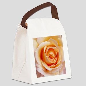AFP 21a Creamy orange rose Canvas Lunch Bag