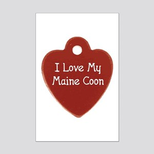Love Coon Mini Poster Print