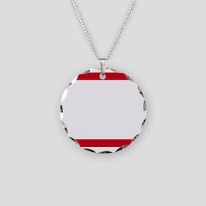 RUN ATL_dark Necklace Circle Charm
