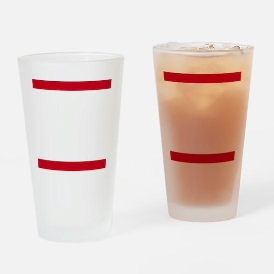 RUN CHI_dark Drinking Glass