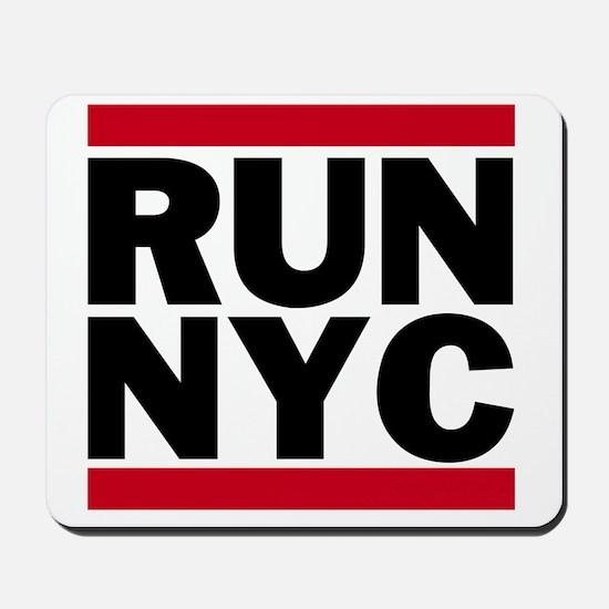 RUN NYC_light Mousepad