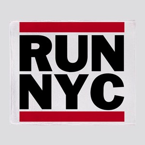 RUN NYC_light Throw Blanket