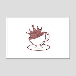 Royal Coffee Mini Poster Print
