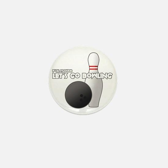 +letsgobowling Mini Button
