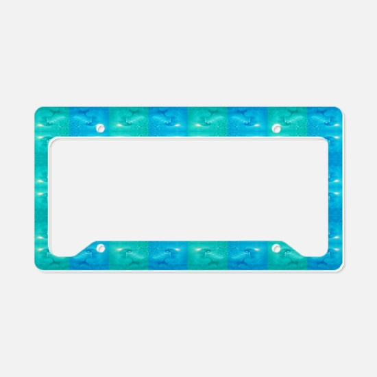 mermaid License Plate Holder