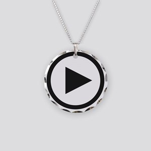 playw Necklace Circle Charm
