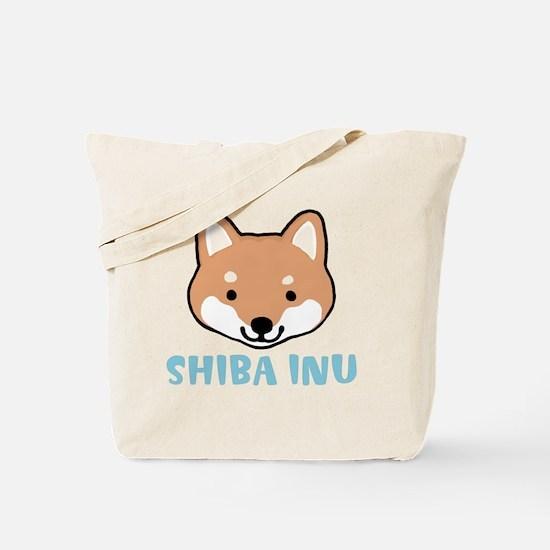 shibafacewords Tote Bag