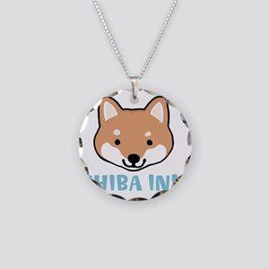 shibafacewords Necklace Circle Charm