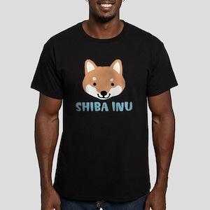 shibafacewords Men's Fitted T-Shirt (dark)
