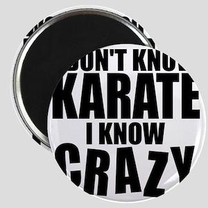 KarateCrazy Magnet