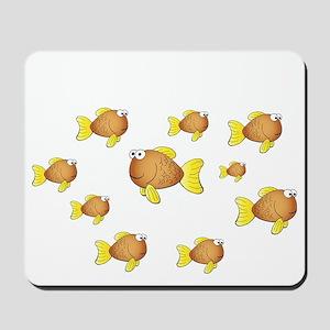 Homeschool Fish - Reverse Mousepad