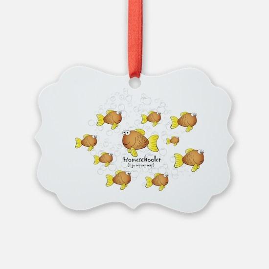 Homeschool Fish Ornament