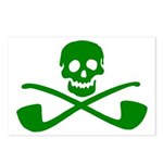 Leprechaun Pirate Postcards (Package of 8)