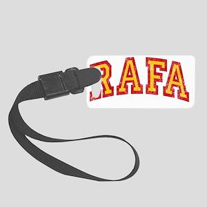 Rafa Red Yellow Small Luggage Tag
