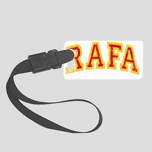 Rafa Red Yellow -dk Small Luggage Tag
