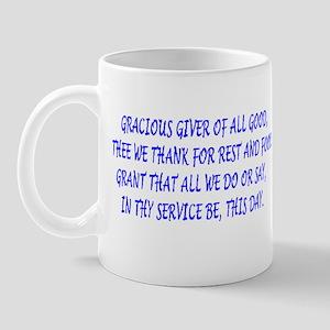 meal blessings Mug